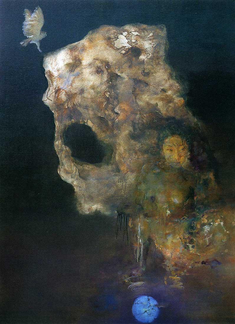 Nude Acrylic Paintings