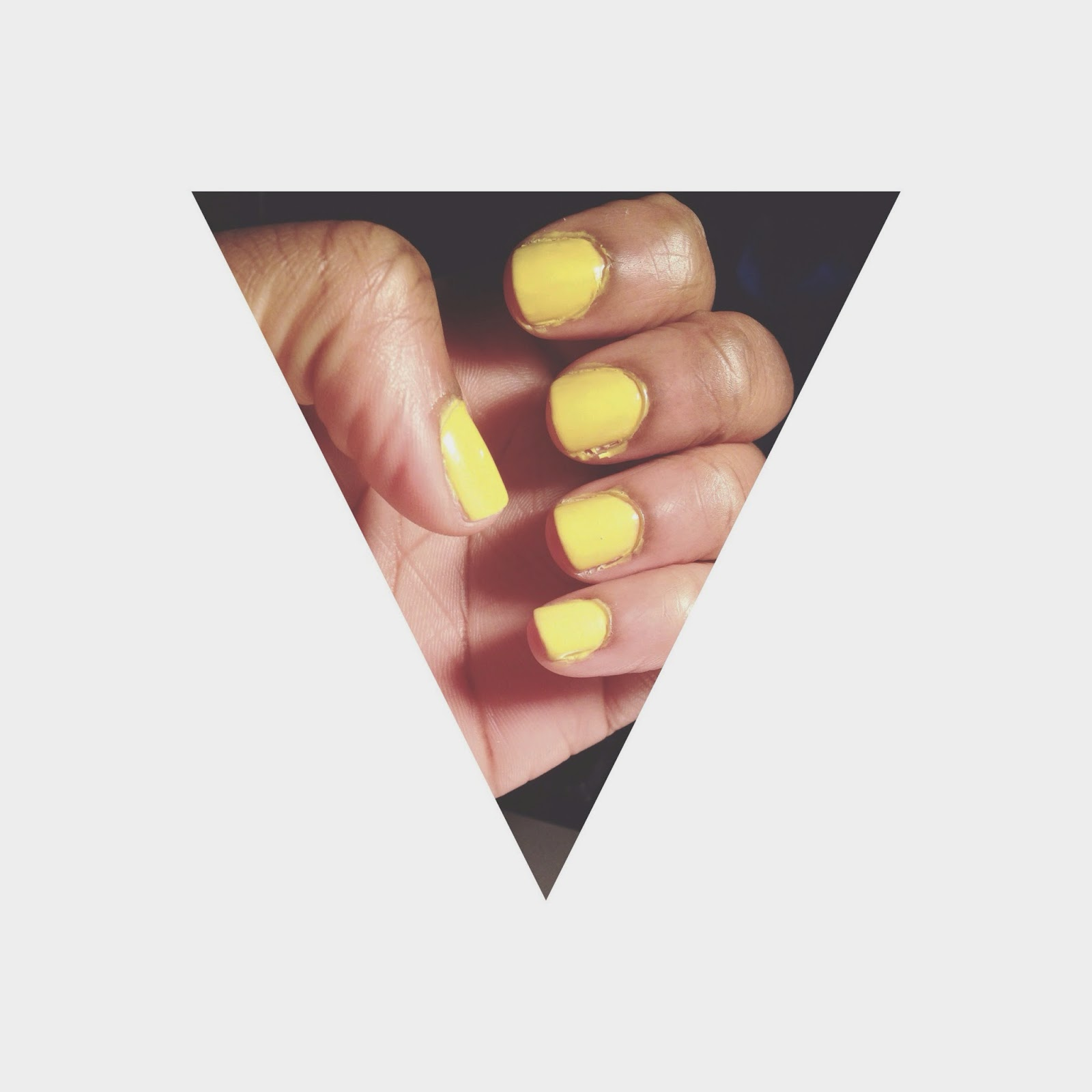 Rimmel Yellow Nail Polish