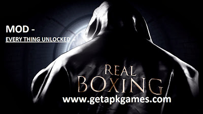 Real Boxing Apk + Data v1.4 [Mod Unlocked] Android