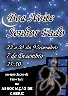 """""""Boa Noite, Senhor Fado!"""""""