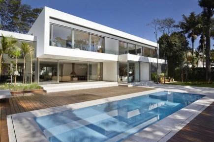 com decor Casa Nova Design Dinâmico e Exuberante