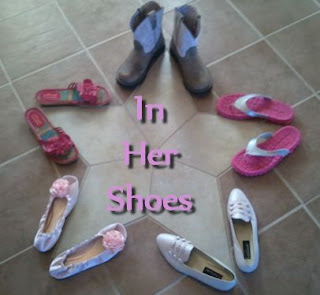 In Her Shoes with Breast Cancer Awareness Kid Bloggers Go Pink Blog Hop