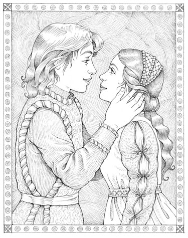 Romeo amp Juliet Shakespeare Coloring Pages  Shakespeare