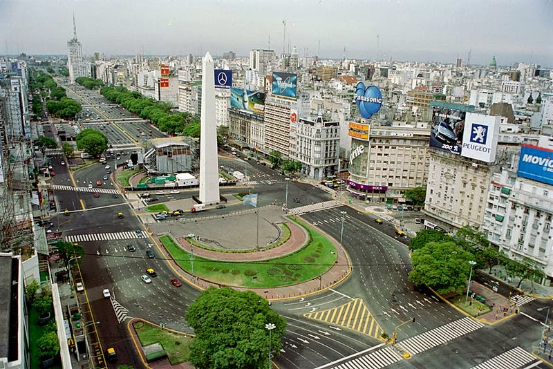 Hasil gambar untuk 9 de Julio Avenue, Buenos Aires