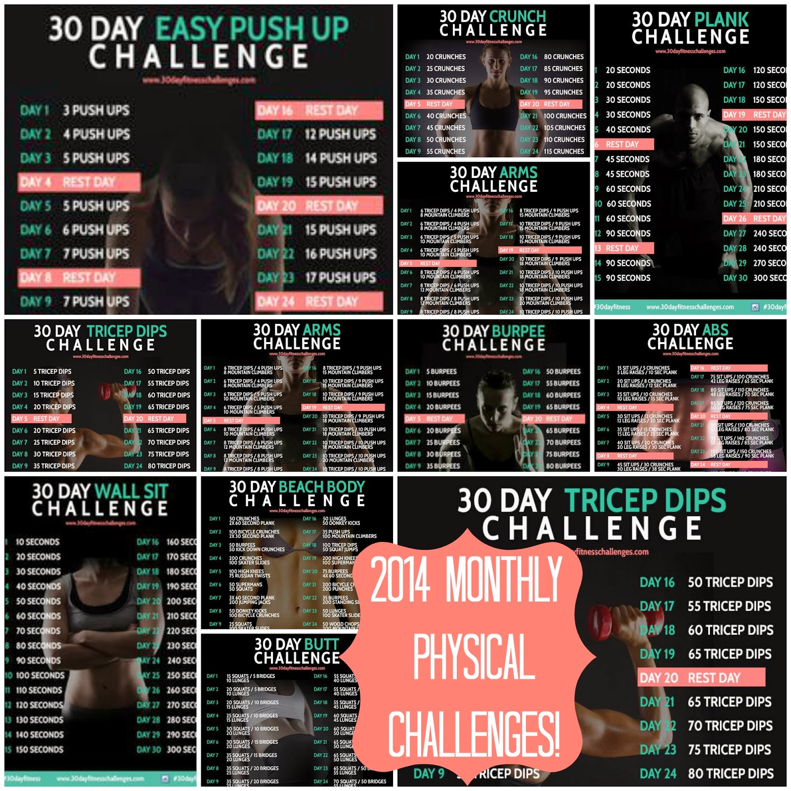 runwithjackabee: my 2014 physical challenge: challenge two