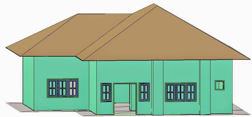 Model Atap Rumah Limas 2014