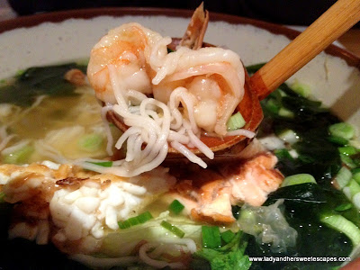 Seafood Ramen at Wagamama