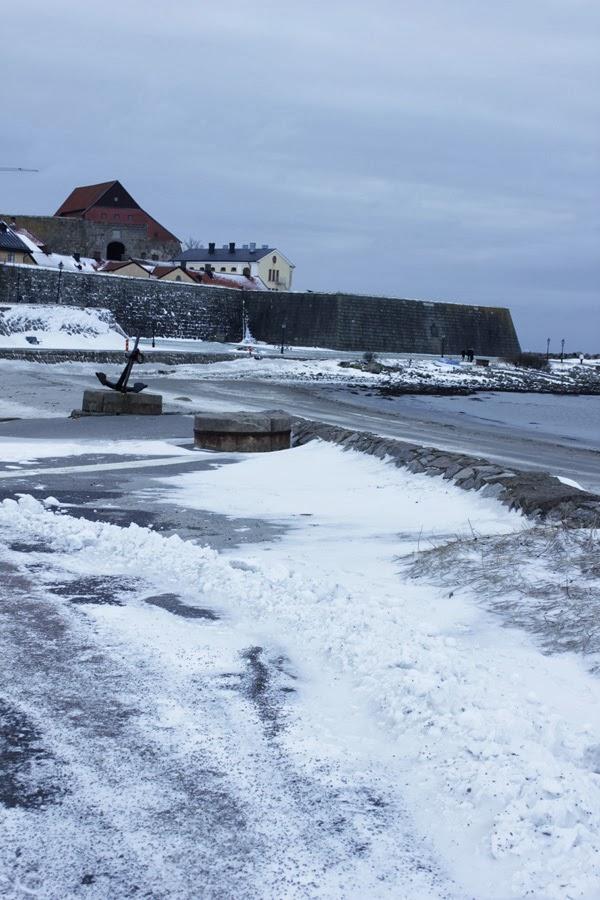 fästningen i varberg, havet i varberg, varbergsbilder