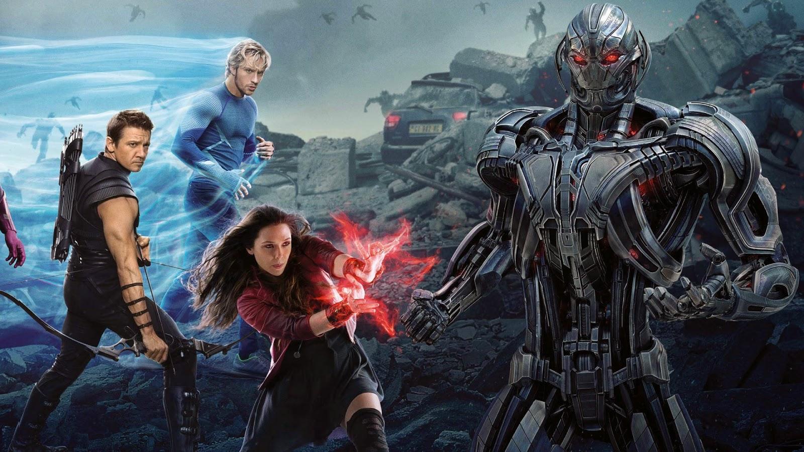 Papel de Parede Filme Vingadores Era de Ultron para pc hd 3d grátis Movie wallpaper hd free