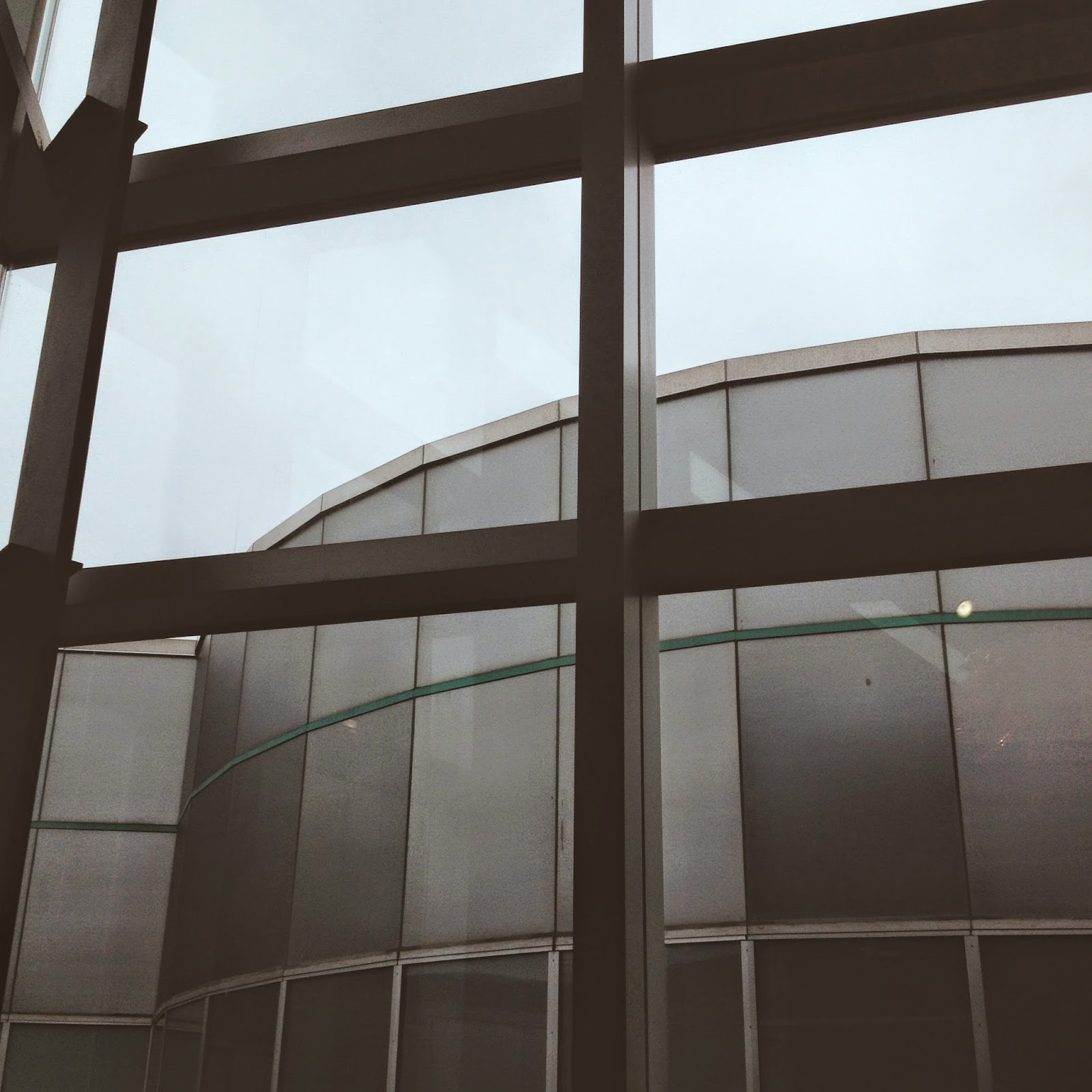 Corning Museum of Glass window view