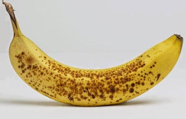 فوائد الموز المنقط