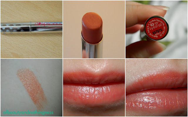 Body Shop Sheer Lipstick: '03 Sheer Watermelon'