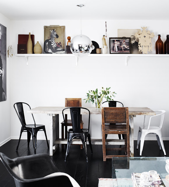 Skandivis: Old meets new in a Stockholm apartment...