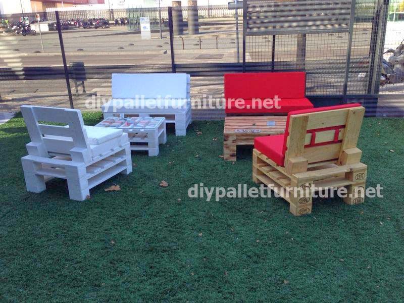 Sillones - Como hacer muebles de jardin con palets ...