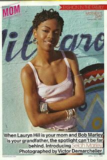 lauryn >Selah Marley fille de Lauryn Hill pour Teen Vogue