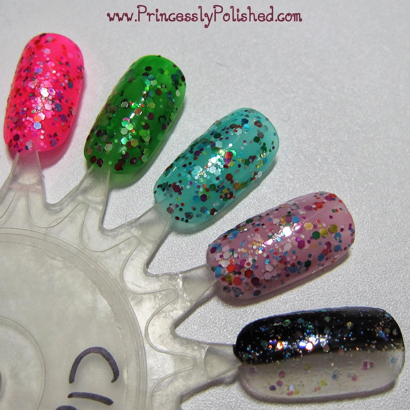Princessly Polished: Claire\'s Sugar High Nail Polish Set
