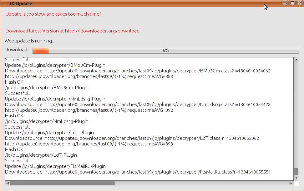 Solved Abnormally Slow Download Speeds - JDownloader