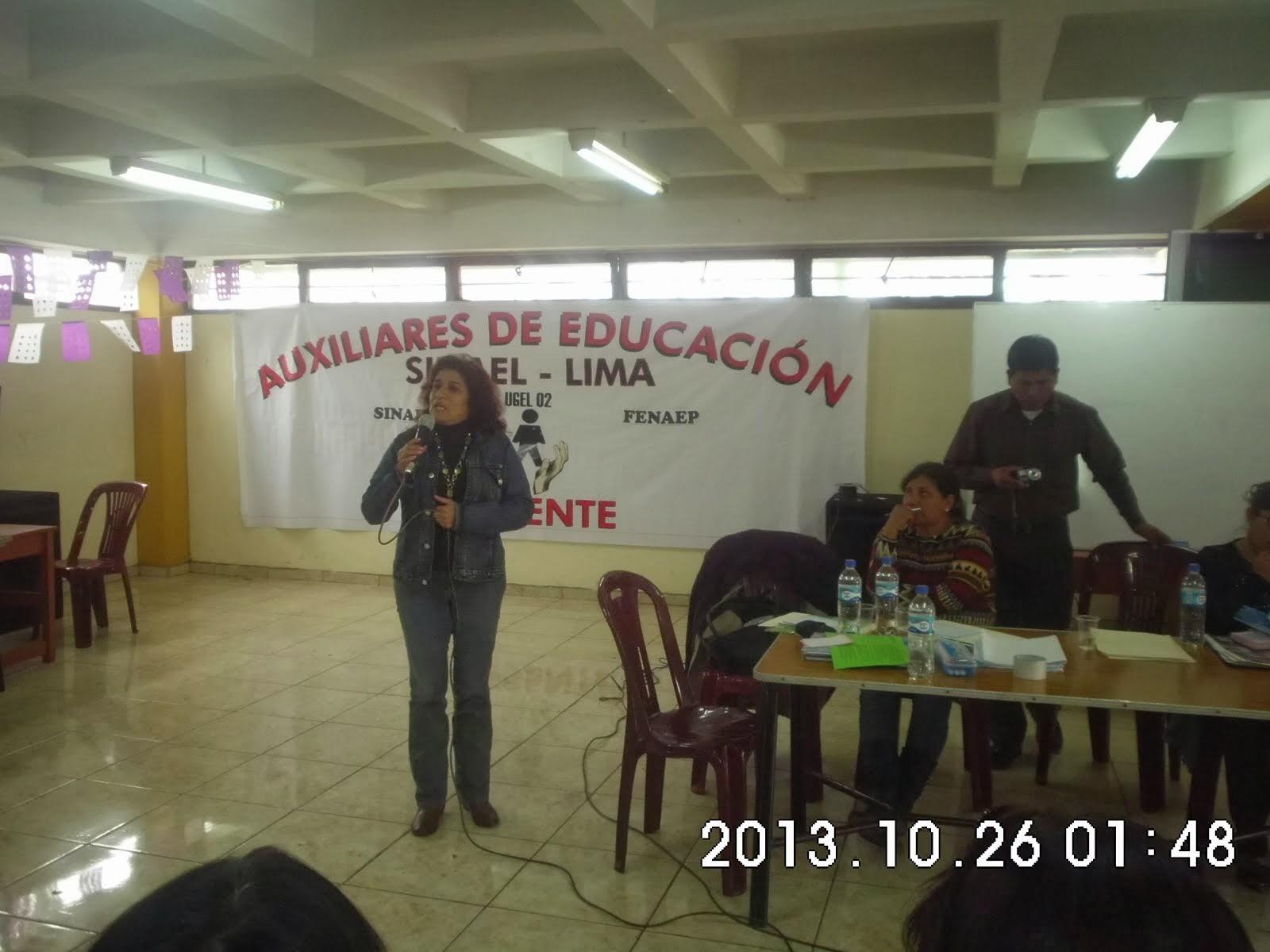 SEC. GRAL. DEL SINDICATO DE  CAMANA
