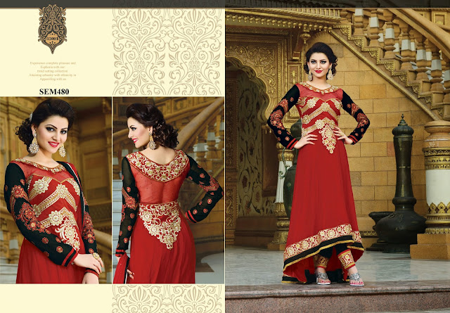 Urvashi Rautela In Designer Long Anarkali Suit – Exporter