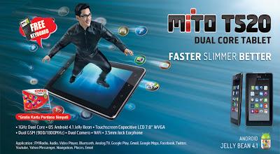 tablet Mito T520 Spesifikasi dan Harga Terbaru Tablet Mito T520 Maret 2014