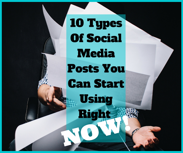 10 Types Of Social Media Posts You Can Start Using Right NOW! | Bullet Point Branding