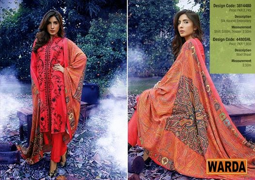 Elegant Winter Collection 2015 Vol-2 by Warda