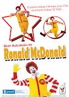 Ronald McDonald en El Torito