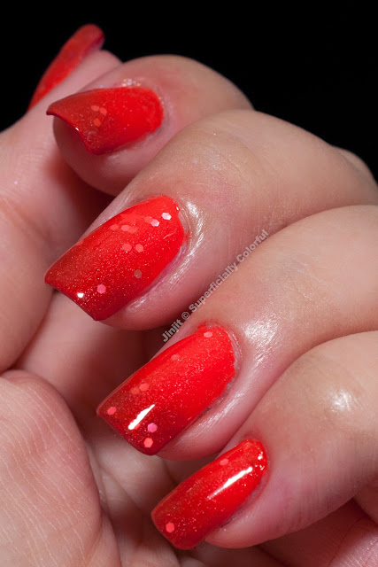 Jelly Sandwich The Nail Junkie Shimmer Jelly Watermelon