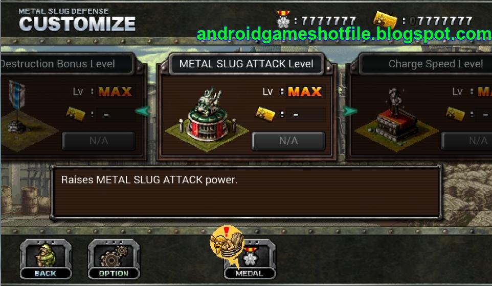 Game Killer Metal Slug Defense