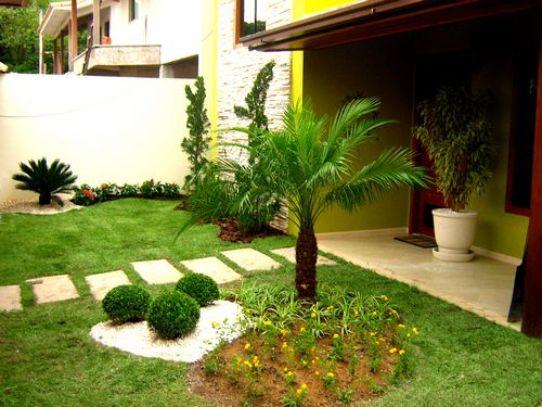 39 39 aprendendo a viver 39 39 decora o de jardins residenciais for Jardines pequenos simples