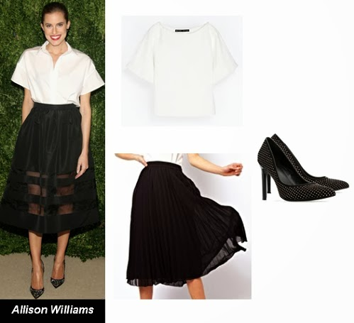 Allison Williams best dressed November 2013