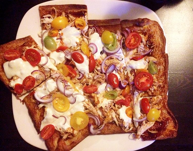 BBQ Chicken Pizza | Hard Parade