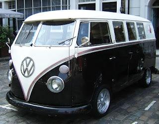 vintage vw camper van clerkenwell london design week