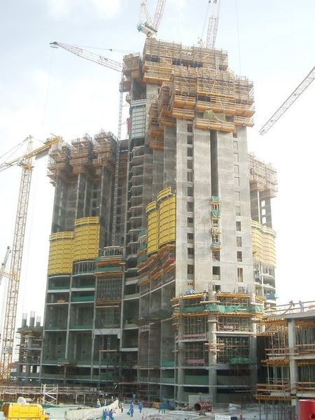 Burj Dubai Construction 1st February 2006