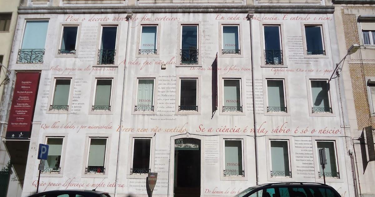 Casa Fernando Pessoa - nacionalidade portuguesa