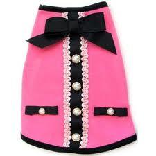 """Tiffany's  little """"Chanel"""" dress"""