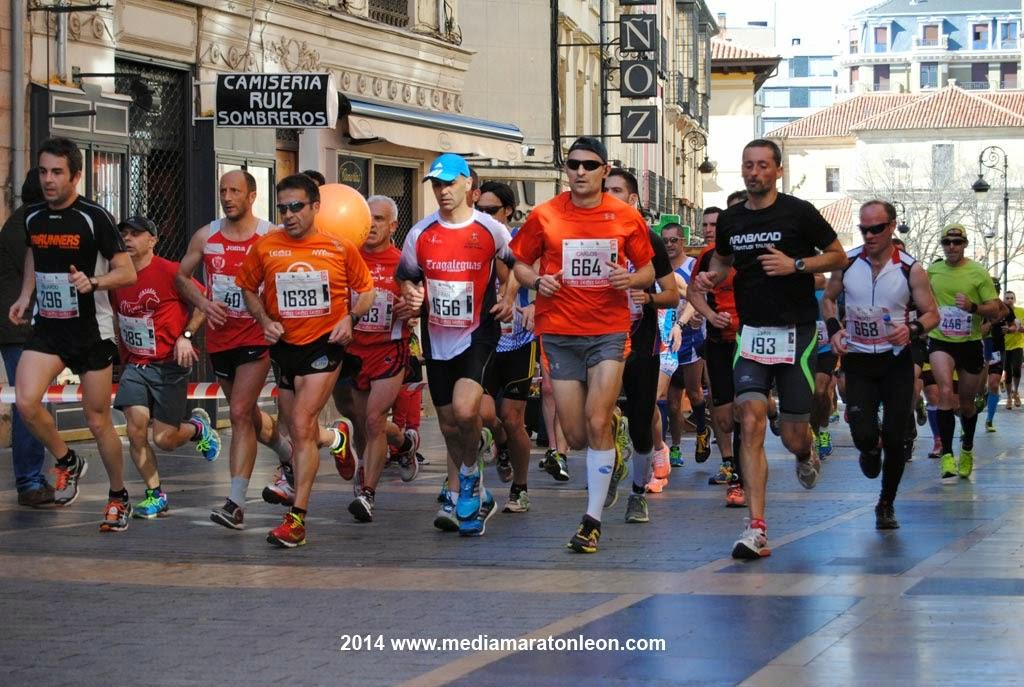 Fotos Media Maraton Leon 2014