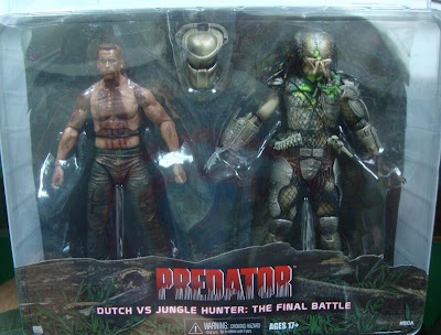 NECA Predator Toys R Us Exclusive Dutch vs Jungle Hunter Predator Figure Set
