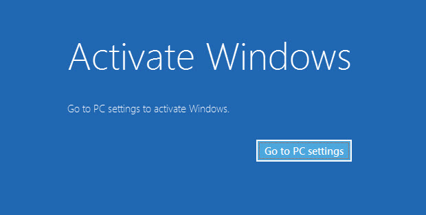 Windows 8.1 Product Key Activate Window