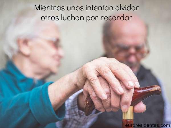Las frases más inspiradores sobre el Alzheimer
