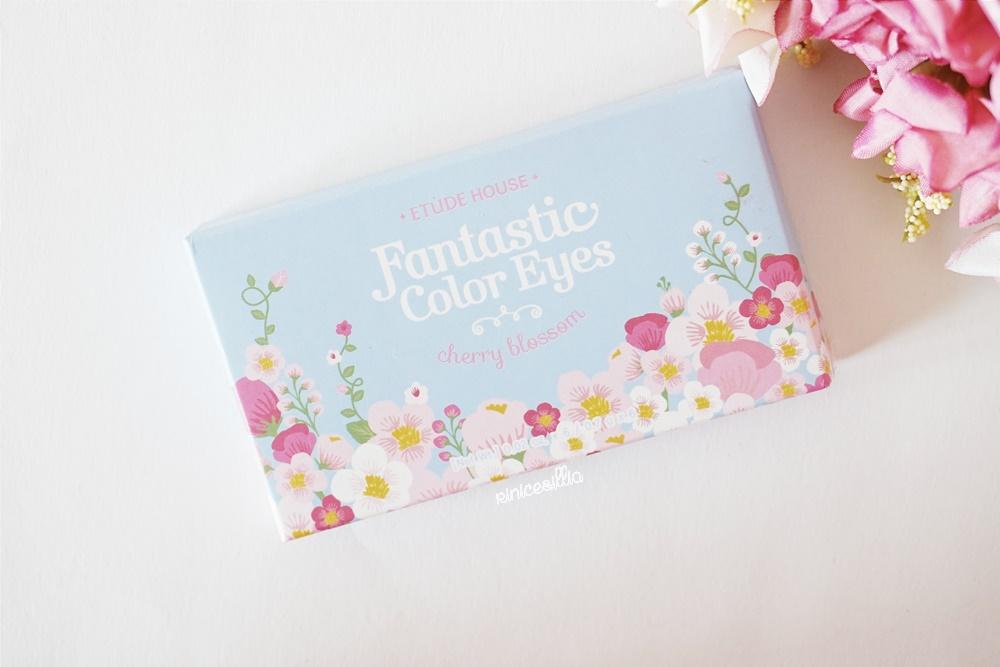Etude House Fantastic Color Eyes Cherry Blossom Eyeshadow
