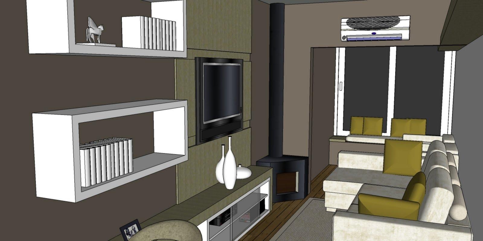 propósito limitar as áreas de estar e jantar mantendo as integradas  #6D6744 1600 798
