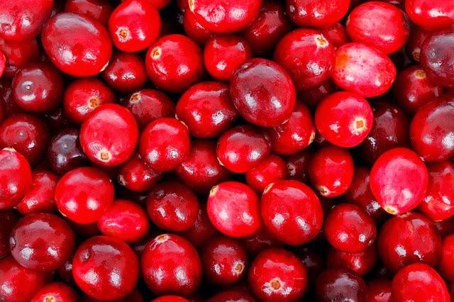 Cranbery: Antioxidante, combate os radicais livres, anti-inflamatórios e anti-virais.