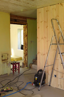 Tømmer panel