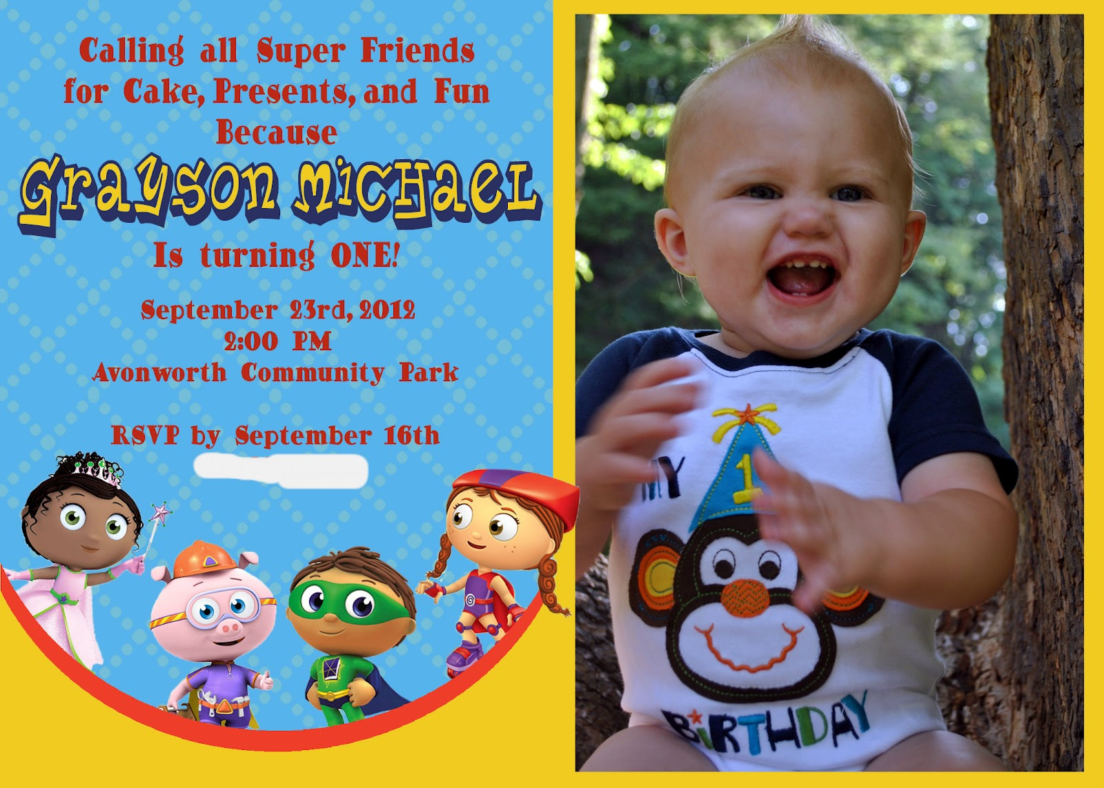 In this crazy life a super why first birthday party a super why first birthday party stopboris Gallery
