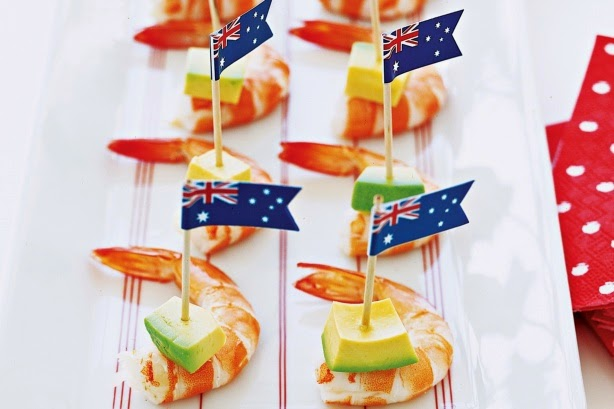 Party fun for little ones australia day celebration ideas for Australian decoration ideas