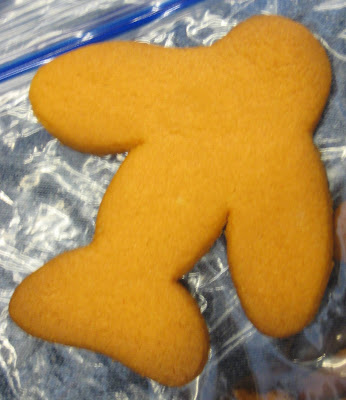 Airplane Cookie