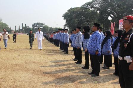 HUT TNI ke 70 di Subang Digelar Secara Sederhana