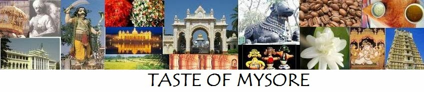 Taste of Mysore