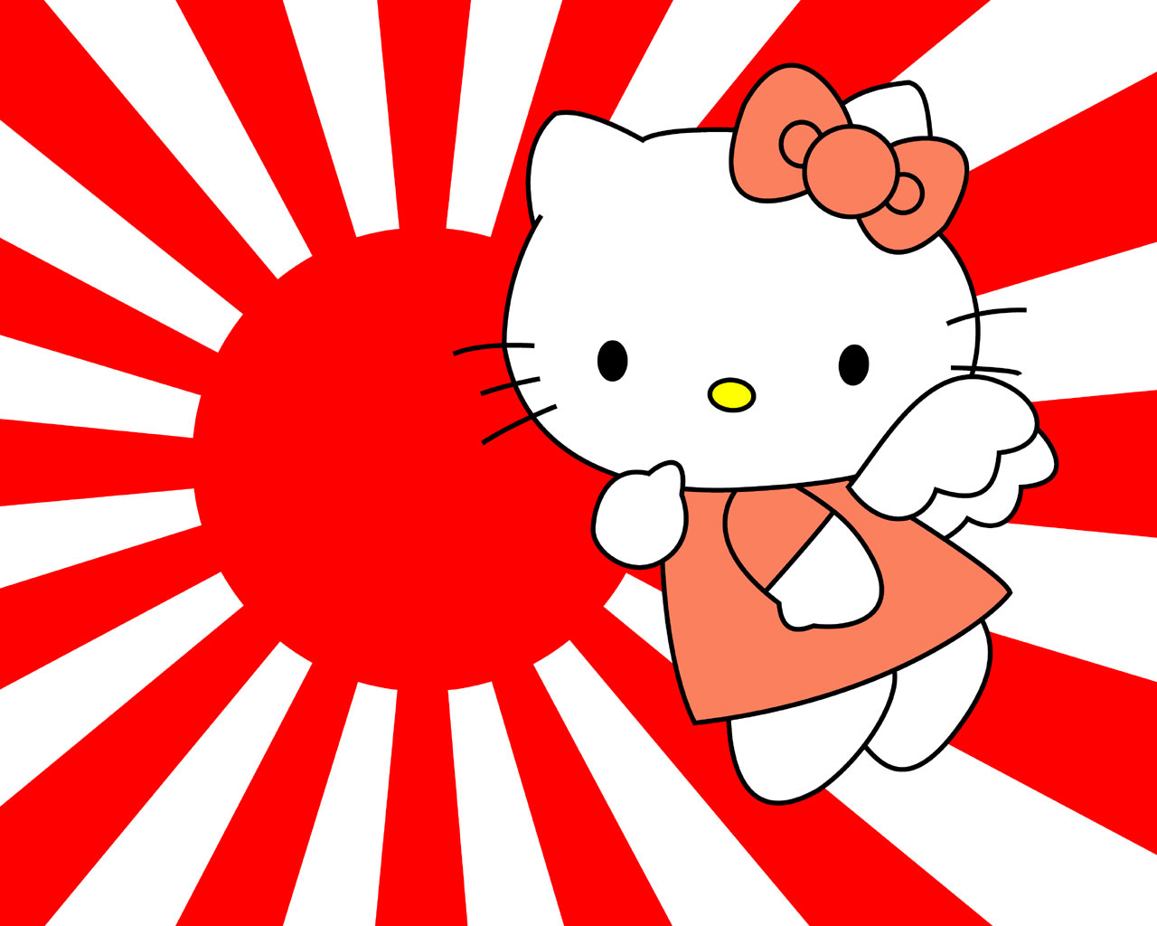 I think Hello Kitty is a cute little icon. There. I said it.
